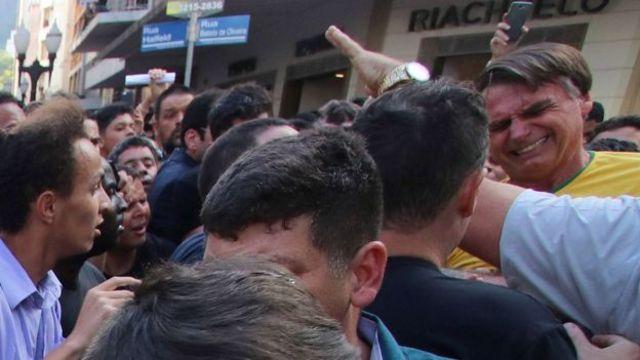 Bolsonaro após ataque