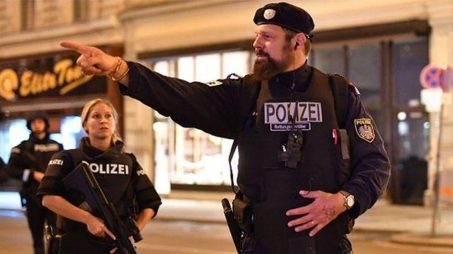Стрельба у синагоги в центре Вены: есть раненые, власти заявляют о теракте  - BBC News Русская служба
