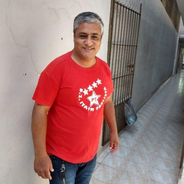 Euclides Mendes, líder comunitário do Itaim Paulista