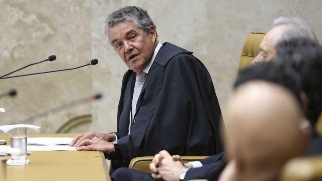 ministro do STF Marco Aurélio