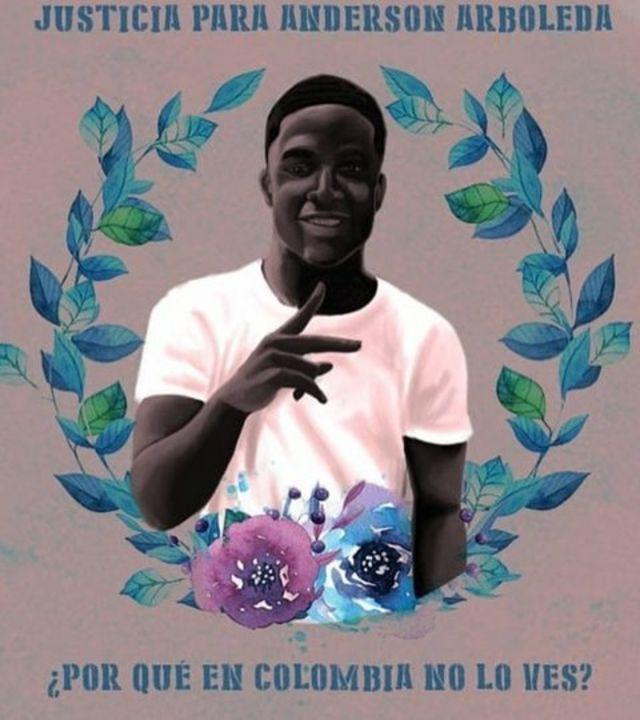 Afiche de Anderson Arboleda