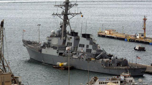 USS Decatur,Third Fleet, US Navy