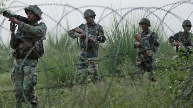 कश्मीर में भारतीय सेना के जवान