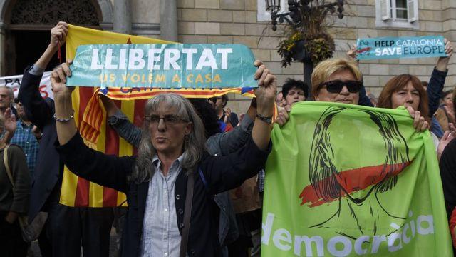Demonstrasi di Spanyol