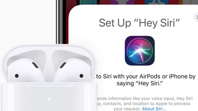 Apple's new AirPods have Siri built-in