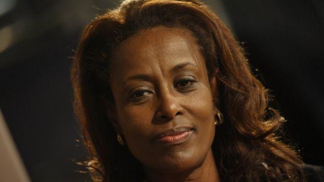 Meaza Ashenafi, première femme présidente de la Cour suprême fédérale d'Ethiopie.