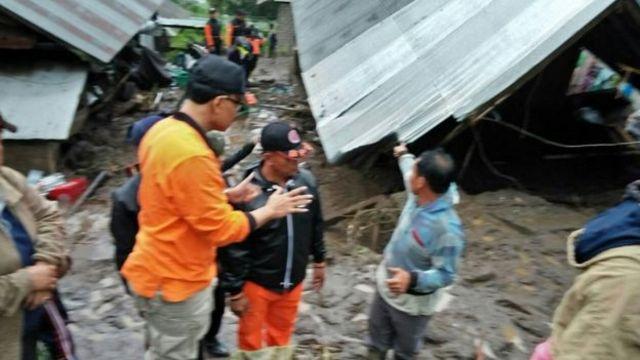 ดินถล่ม, บาหลี, อินโดนีเซีย, ตัดไม้ทำลายป่า, ซองกัน, คินตามณี