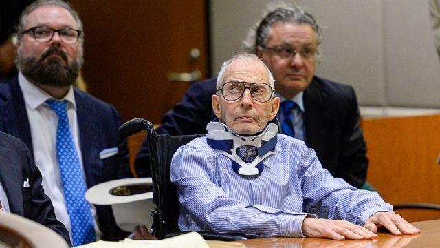 Роберт Дерст в суде в 2016 году
