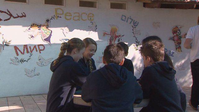 Children at Tabeetha School