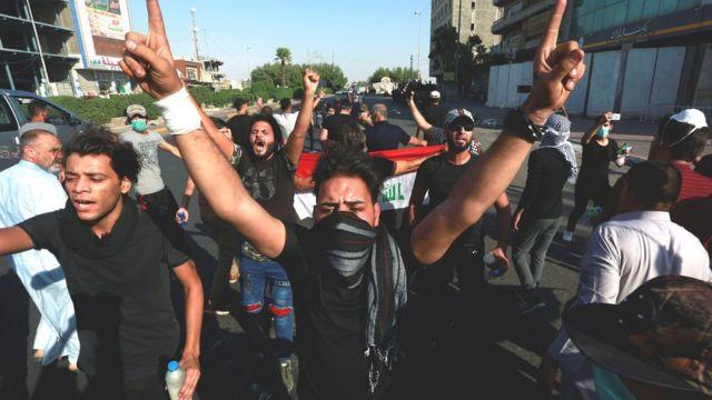 احتجاجات متواصلة في البصرة