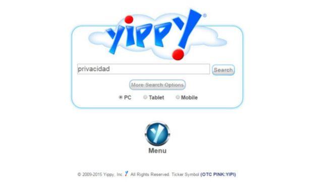 O buscador Yippy