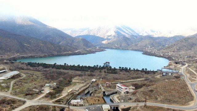 Azərenerji Suqovuşanda Su Elektrik Stansiyalarını təmir edir.
