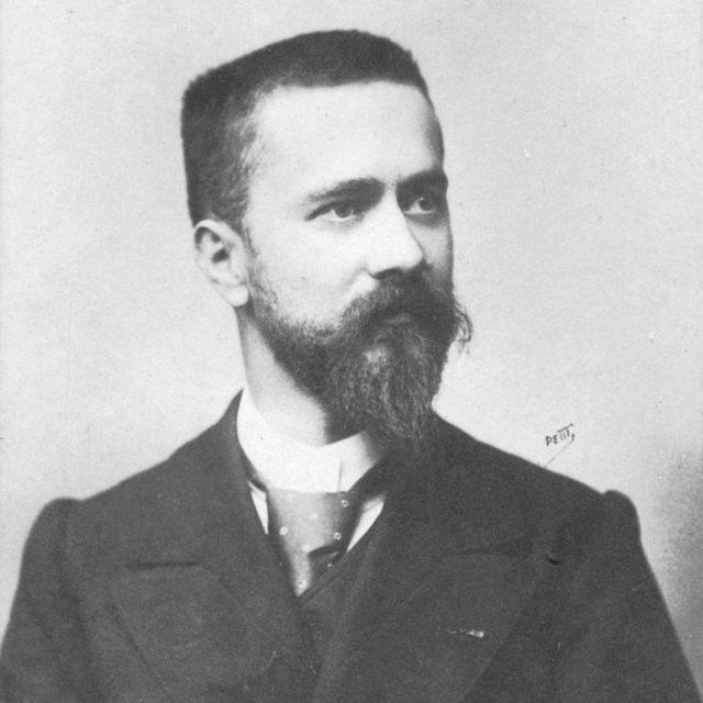 Albert Calmette en su juventud