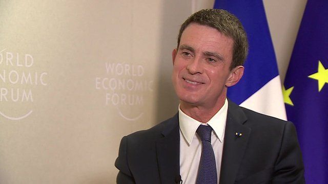 The French Prime Minister Manuel Valls