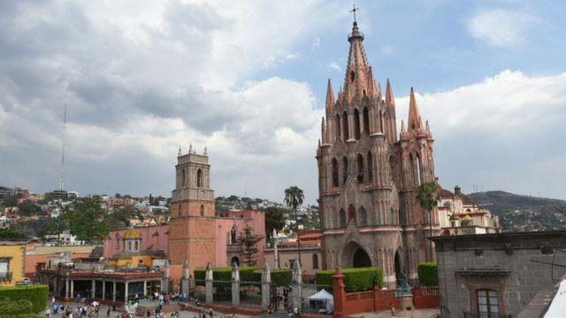 La plaza de San Miguel de Allende
