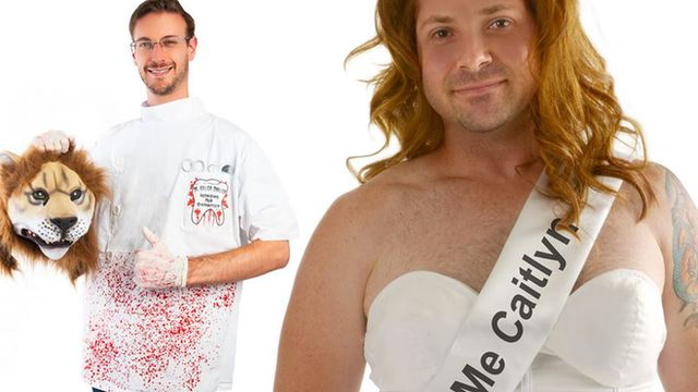 Cecil the Lion and Caitlyn Jenner Halloween costumes