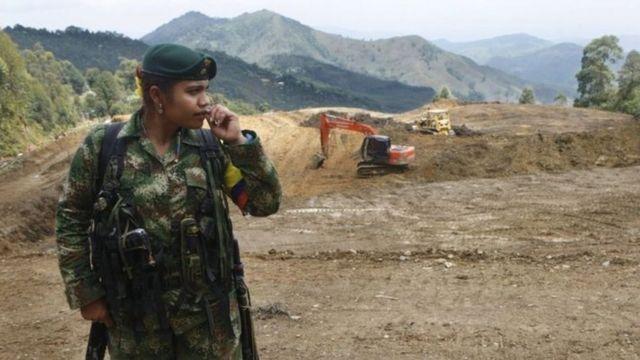 القوات المسلحة الثورية الكولومبية (فارك)