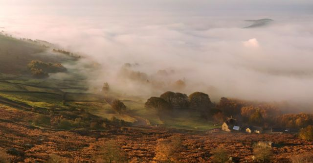 Mist in the Peak District