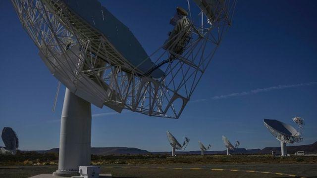 Des télescopes dans la province du Cap Septentrional