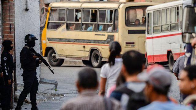 Tensión en las calles de Caracas