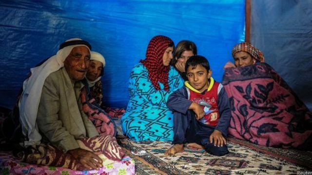 Kurdos en familia