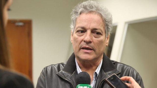 O candidato do PPL, João Vicente Goulart