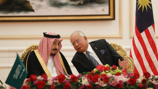 Malaysia, Arab Saudi, Najib Razak