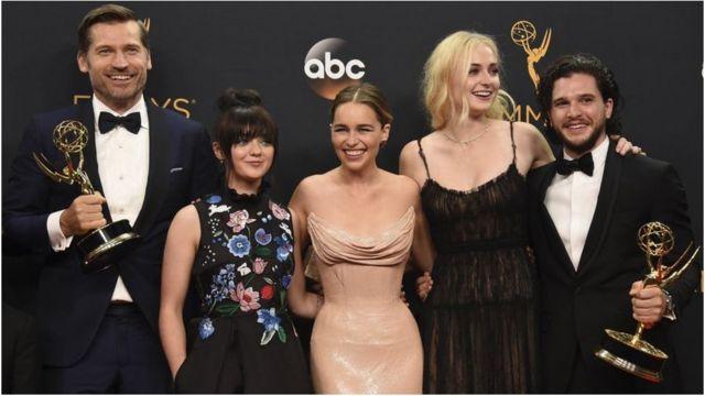 Game of Thrones, Etats-Unis, Emmys