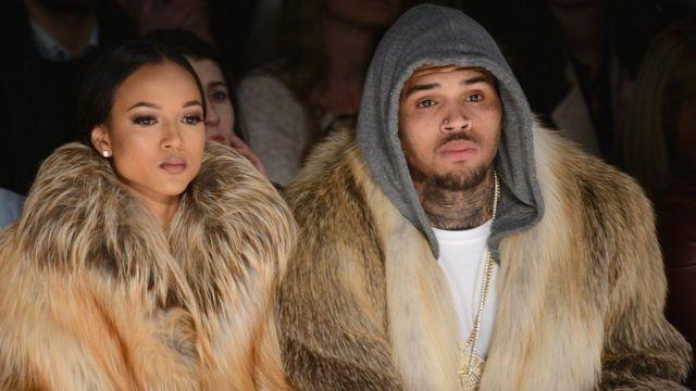 Chris Brown na mpenziwe wa zamani Karrueche Tran