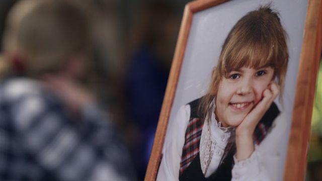 Маша Макарова, одна из детей, погибших на Сямозере