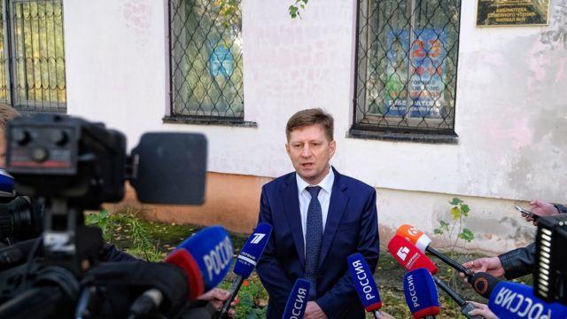 Кандидат от ЛДПР Сергей Фургал