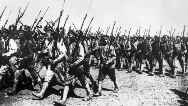Червоноармійці у Харкові, 1919 рік