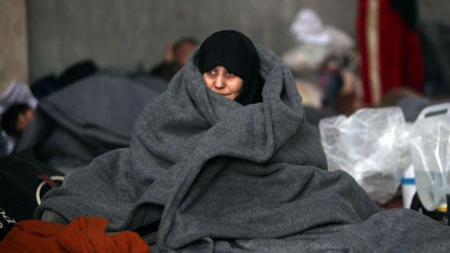 سيدة من حلب في جبير