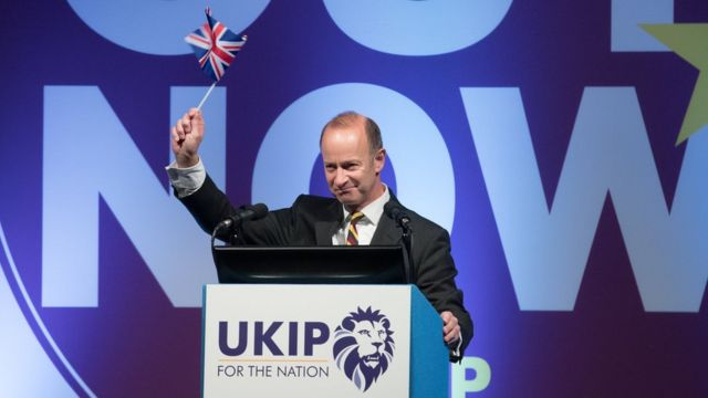 Brexit transitional period unacceptable, says new UKIP leader