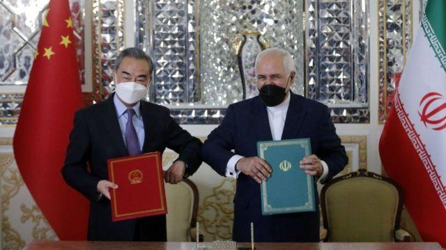 امضای قرارداد ۲۵ ساله ایران و چین