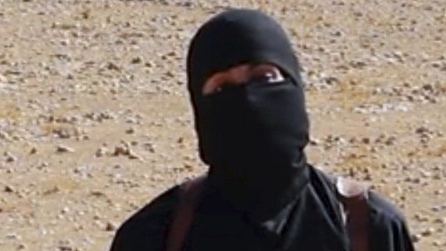 File photograph of 'Jihadi John'