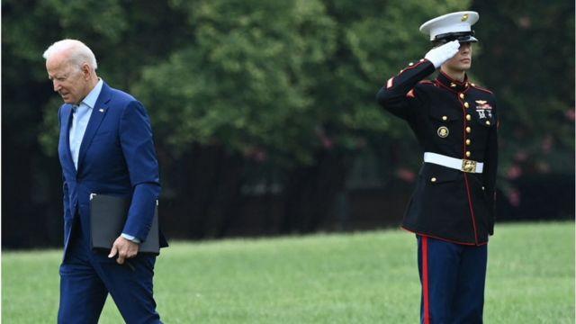 Biden na Casa Branca
