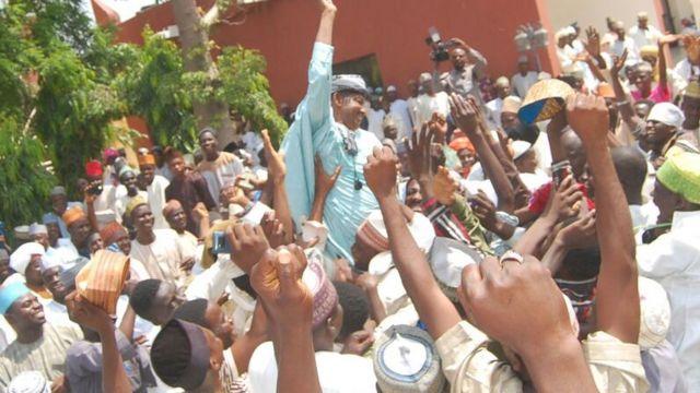 Ibrahim Muhammad Mandawari ya zama mai unguwa