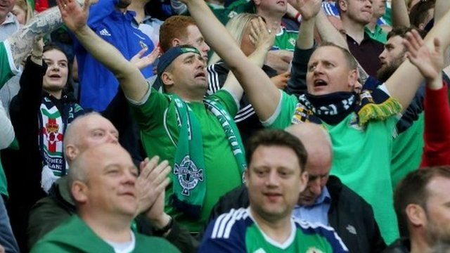 Northern Irish football fans