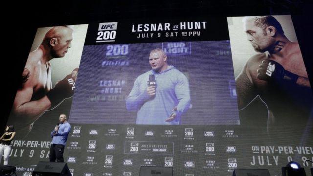 Brock Lesnar UFC 200