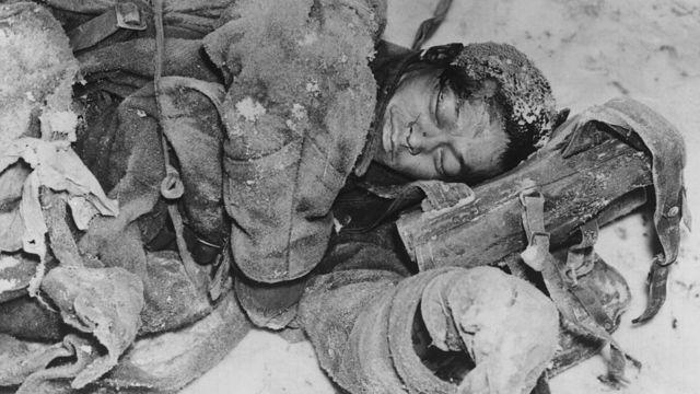 Радянські солдати замерзали