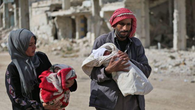 وري وزوجته في الغوطة الشرقية المحاصرة