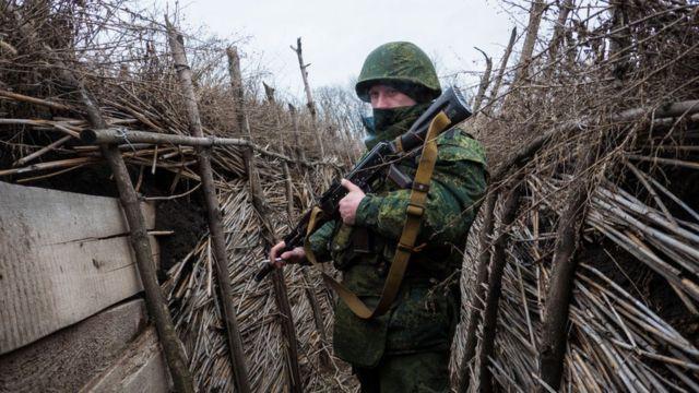 Боевик вооруженных формирований ДНР