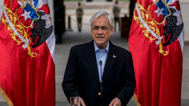 Şili Devlet Başkanı Sebastian Piñera