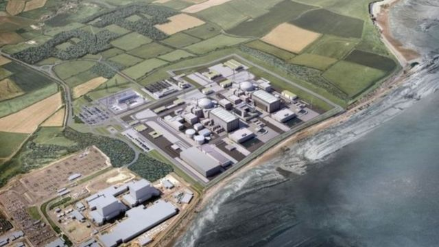 Gráfico de la nueva planta de Hinkley Point C