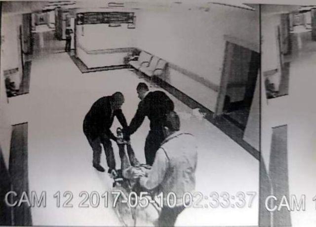 Polislerin davacı olmaması için mağdura baskı yaptıklarına dair görüntüler de dava dosyasında yer almıştı.