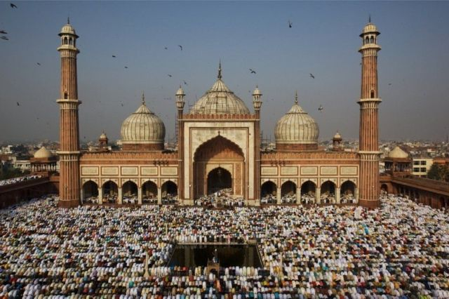 भारतमा इन्डोनेशियापछि सर्वाधिक सङ्ख्यामा मुस्लिमहरू बसोबास गर्छन्