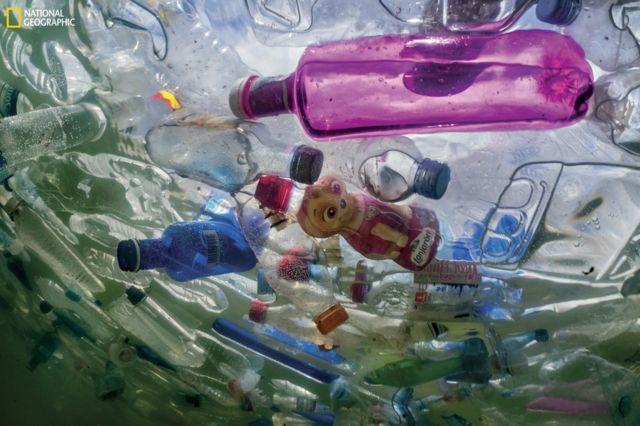 Plastoc waste