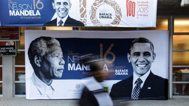 Nelson Mandela était une référence pour le premier président noir des Etats-Unis