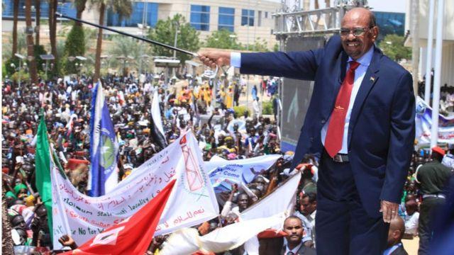 Pireezidantii Sudaan Omaar Al bashiir